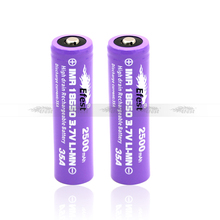 High power 3.7V 2500mAh lifepo4 battery pack 18650 Battery cells for e cigarette