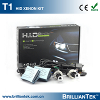 Super Bright Led Headlight High Power Hid Projector Lens Kit 9007 Hot Sale