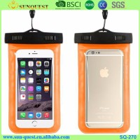 alibaba express china new products water proof cell phone cases mobile phone PVC waterproof dry bag for promotional gift