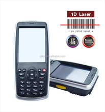 Wins mobile 6.5 OS 3.2inch PDA barcode laser scanner with13.56Mhz rfid reader, camera, 3G available