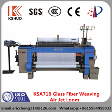2015 China QINGDAO KSHUO brand KSA718 glass fiber weaving air jet loom price