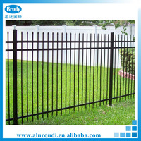 Cast cheap steel different types picket fences