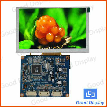 5 inch tft lcd controller