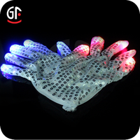 Magic Colorful Led Finger Light Glow Gloves