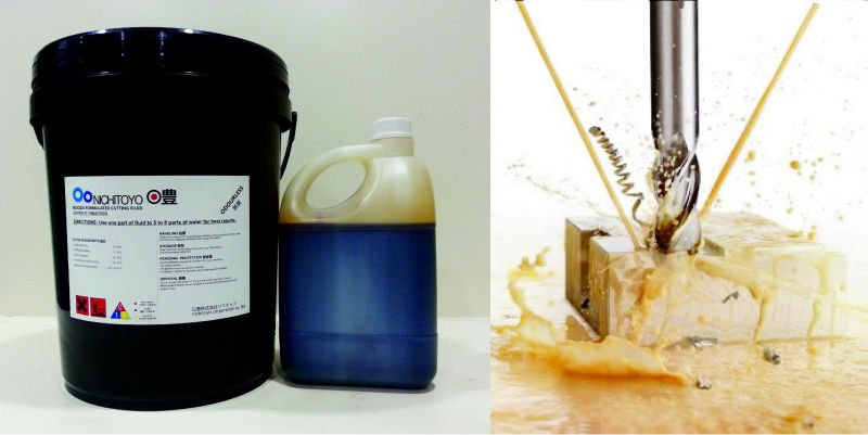 NICHITOYO Soluble Cutting Oil / Emulsifiying Cutting Fluid / Metal Cutting Coolant