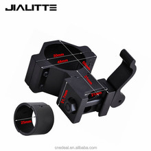 Jialitte 30mm 25mm Ring Weaver Scope torch Rail Mount 20mm picatinny for flashlight rifle gun hunting mounts J071
