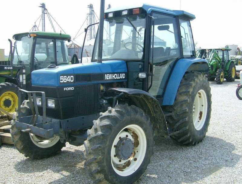 FORD - NEW HOLLAND 5640 - USED RECONDITION FARM TRACTORS