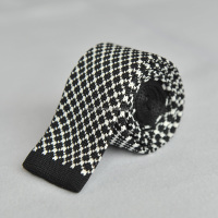 Brand New Black And White Tartan