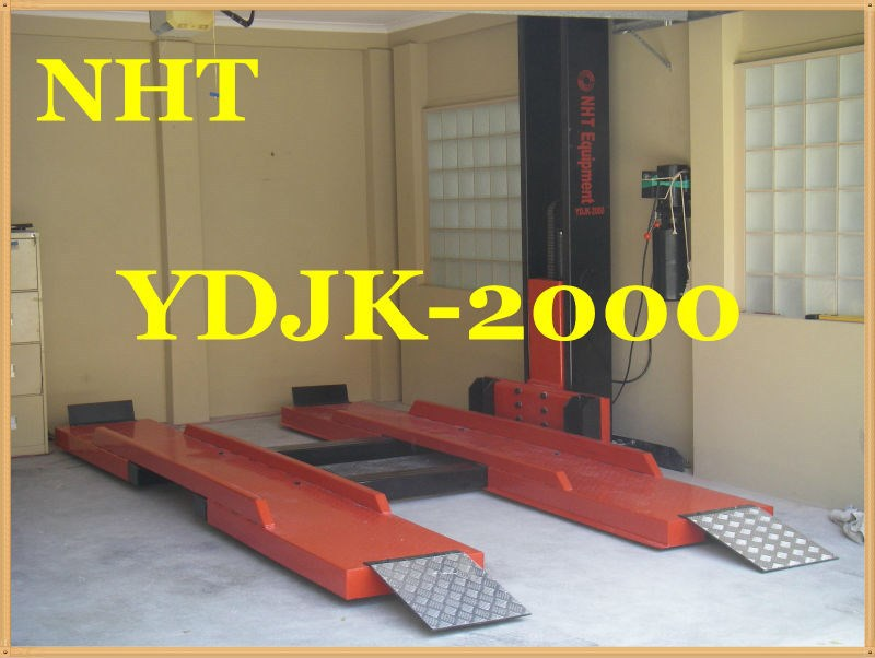 YDJK-2000 NHT Single Post Lift for Parking 2 Vehicles, 2.0tons