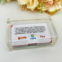 wholesale table card holder/high quality acrylic name card box