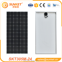72 cell solar photovoltaic module for roof solar panel with A grade