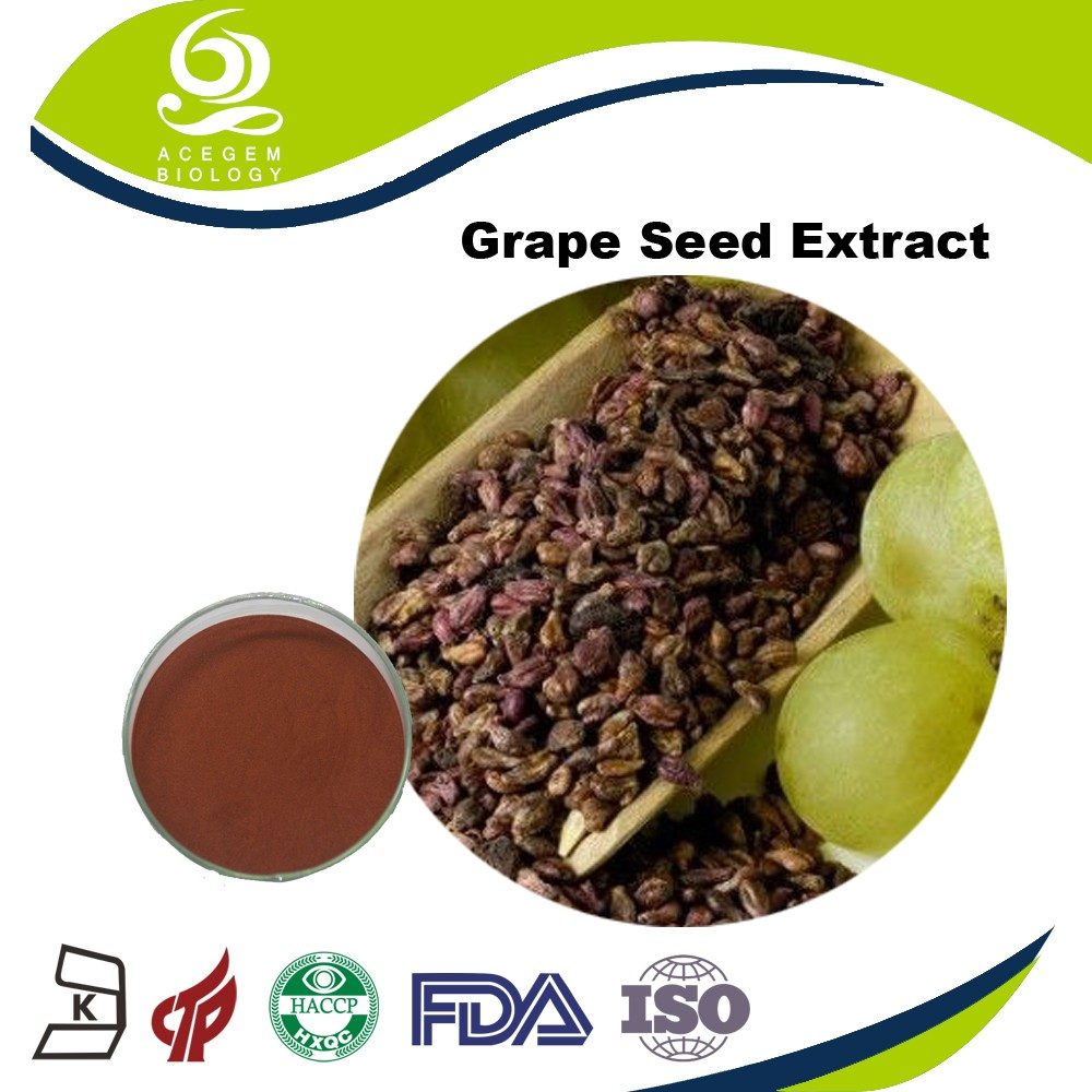 Improve cardiovascular health Grape Seed OPC 60mg Antioxidants