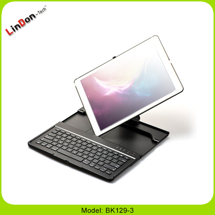 High Quality 360 Degree Rotate Bluetooth Wireless Keyboard Case For iPad Pro 12.9 Inch