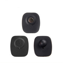 8.2MHz rf mini square tag eas hard tags security tag for clothing store