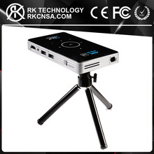 RK 2017 New Released Amazon Hot Sell Amlogic S905 DLP100 C6 Smart Mini Projector HD 1080P