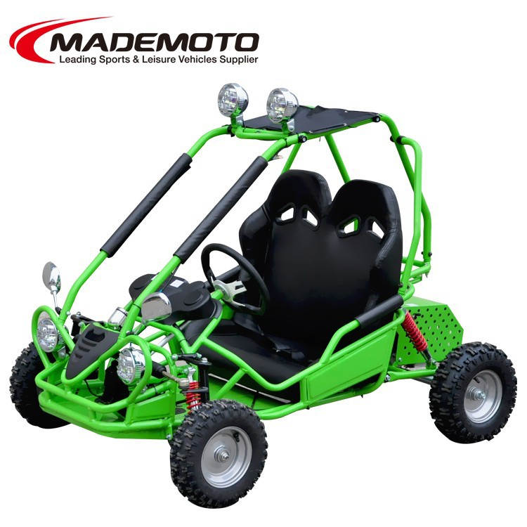 new style good luck off electric 2 seater road racing go kart