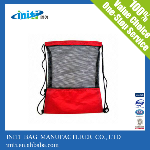 Promotional Wholesale Cheap Custom Printed Drawstring Basketball Backpack