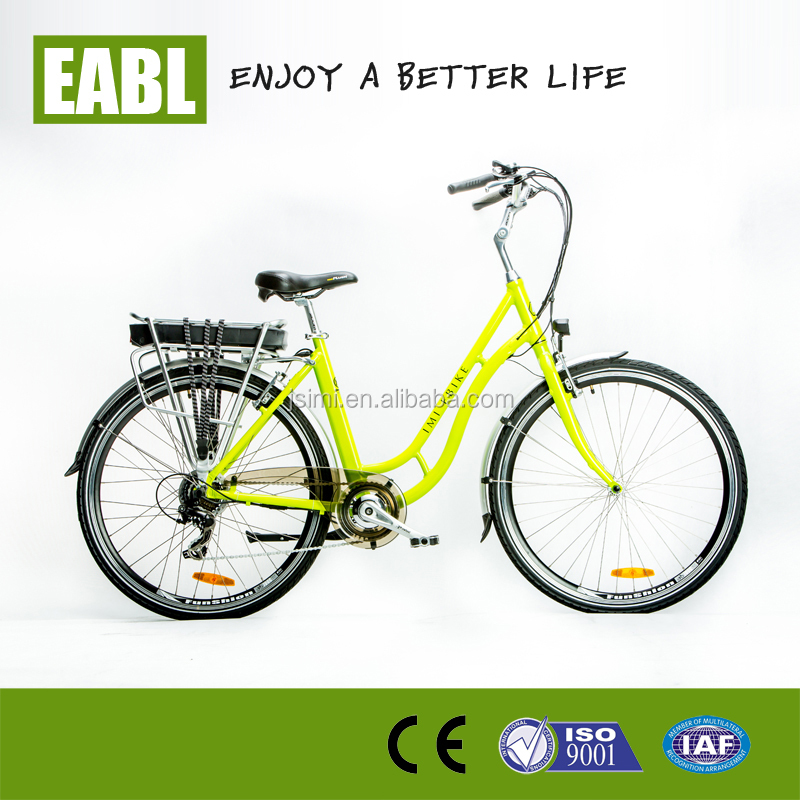 TOP/OEM most popular easy go on/down 250w ebike for lady