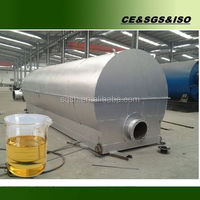 Fuel oil refinery machine with large capacity