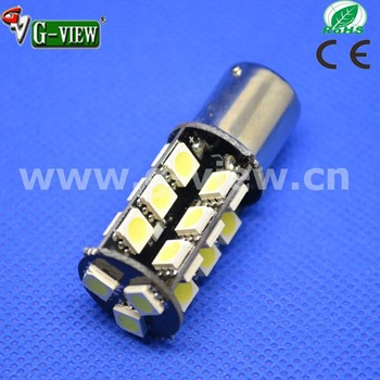 Best quality yellow ba15s 5050smd light canbus led