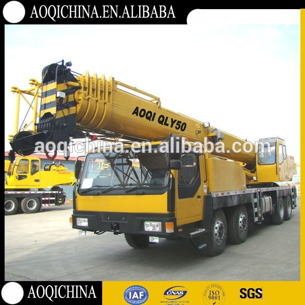 Professional top exported truck crane with low price