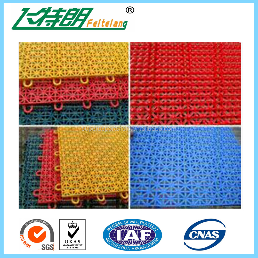 Hot sale durable badminton court floor material