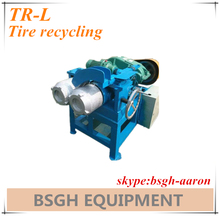 tire steel wire separator machine/ tyre steel separator/ tire recycling machine