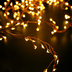 Christmas decor indoor outdoor holiday decoration led copper string light for wedding party events
