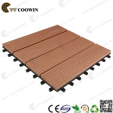 High quality Outside usage wpc decking tile