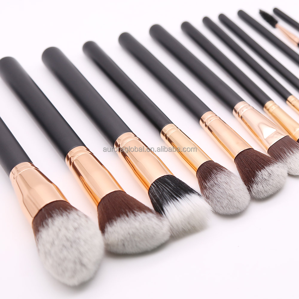 Private Label cosmetic makeup brush set