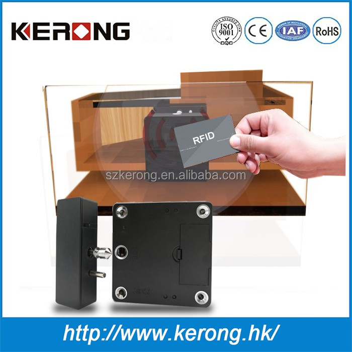 Anti-theft panel electronic password cabinet toggle latch lock