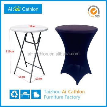 Custom-made Spandex Bar Table Covers,High Bar Cocktail Table Cloth ...