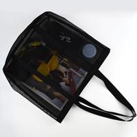 promotional custom foldable reusable net shopping bag