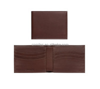 Genuine Leather RFID Blocking Wallet - Best Men's Wallet for Identity Theft Protection and Credit Card Protector
