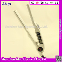 Electric Hair Threading Machine Hair Straightener with Steam Irons Prices