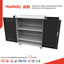 School used China factory selling directly laptop charging & storage cart with low cost
