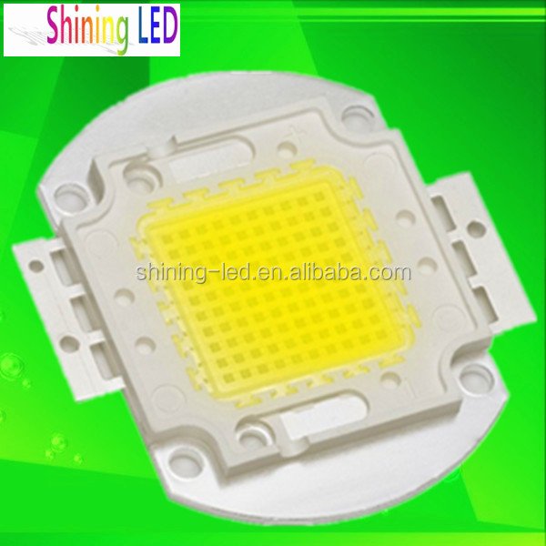 High Lumens 30W 50W 80W 150W 200W 300W 400W 500W Bright Diode Epistar / Bridgelux 45mil COB High Power LED Chip 100W