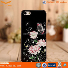 Hot picture butterfly phone case for iphone 5 /6 / 6 plus