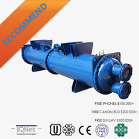 Industrial stainless steel shell-and-tube Heat Exchanger as cooler/condenser with good price