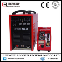 Pure alumium Al-Si alloy CO2 gas protection Inverter aluminum welder NBC-350