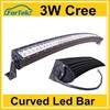 wholesale price 50 inch 288w 4x4 cree led car light curved led bar
