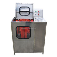 Semi-auto 5 gallon bottle washing machine with internal and external washing&decapping function