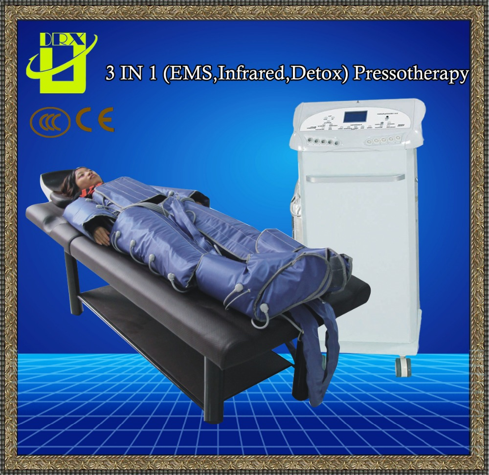 low price detox slimming massage pressotherapy / air pressure lymphatic drainage machine