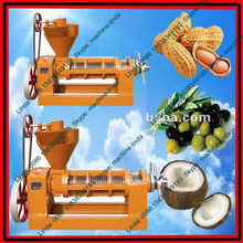 High capacity low oil residue rate screw oil press