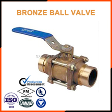 ISO Manual aluminium bronze flange butterfly valve for sea water