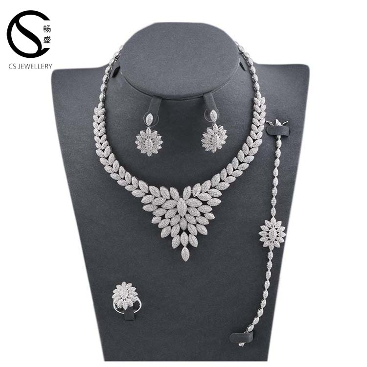 Fashion Jewellery <strong>set</strong>, Indian American Diamond Necklace <strong>Sets</strong>