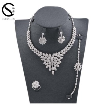 Fashion Jewellery set, Indian American Diamond Necklace Sets
