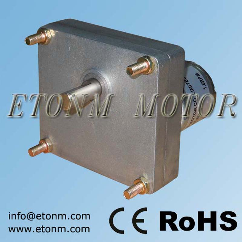 Electric DC motors with gearbox 40w, 12v motor with low power gearbox