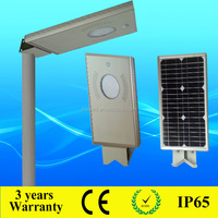5w LED all in one solar energy road lamp with aluminium housing