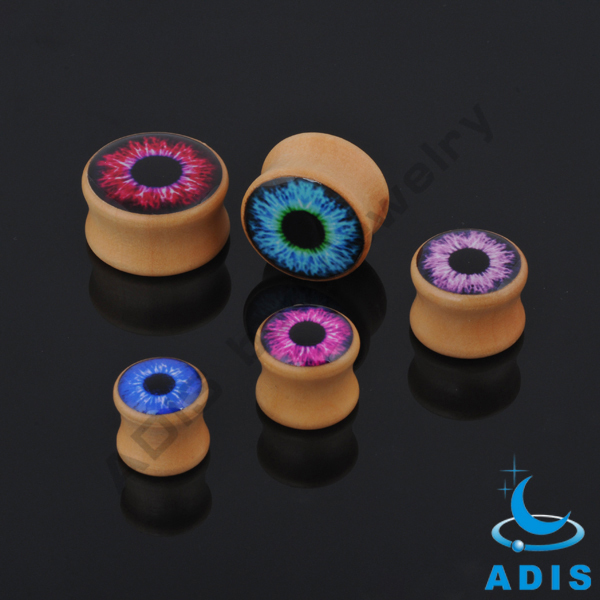 Gauges Ear Plugs ear Expanders earrings Wood Double Flare Tunnels wholesale